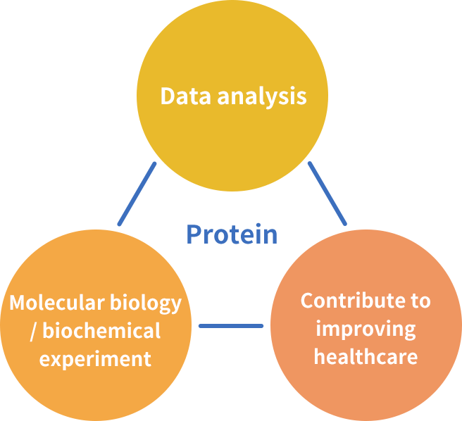 Contribution to medical treatment by comprehensive analysis of proteins